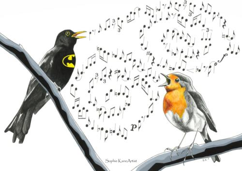 Batbird and Robin